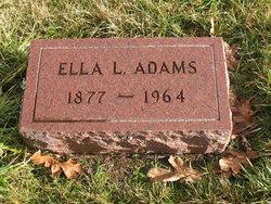 Ella L Adams