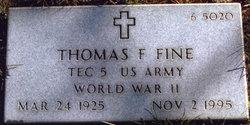 Thomas F Fine