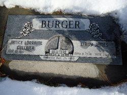 Leroy James Burger