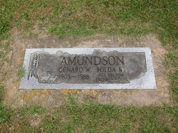 Hilda M. <I>Nelson</I> Amundson