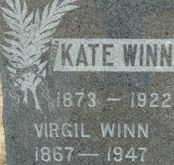 """Katherine E """"Kate"""" <I>Brooks</I> Winn"""