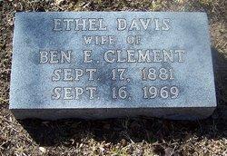 Ethel Shelly <I>Davis</I> Clement