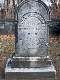 Lucy <I>Dickinson</I> Brown