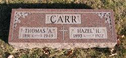 Hazel Chloe <I>Hurst</I> Carr