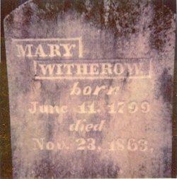 Mary <I>Johnson</I> Withrow