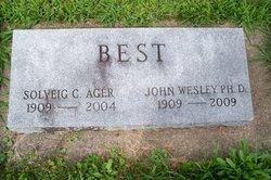 Solveig C. <I>Ager</I> Best