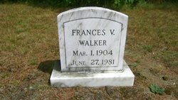 Frances V. <I>Goodwin</I> Walker
