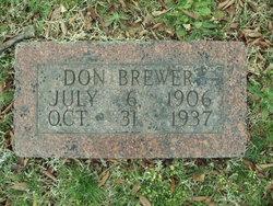 Donald M. Brewer