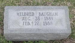 Mildred <I>Bradley</I> Baugham