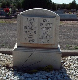 Alma Lee <I>Snowder</I> Barnett
