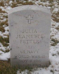 Julia Jeanette Fetter
