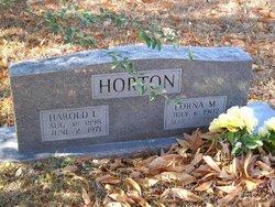 Harold L Horton