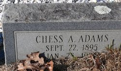 Chess A Adams