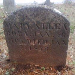 """Mary Carter """"Polly"""" <I>White</I> Allen"""