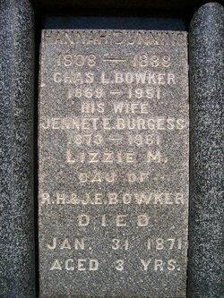 Jennet Ethelyn <I>Burgess</I> Bowker