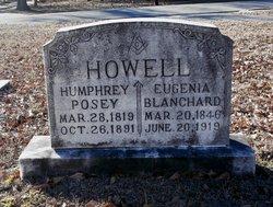 Eugenia California <I>Blanchard</I> Howell Haynes