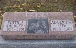 "Adolph W ""Ed"" Badke"