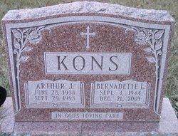 """Arthur J """"Art"""" Kons"""