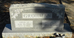 Hattie Mary <I>Ohnheiser</I> Grohman