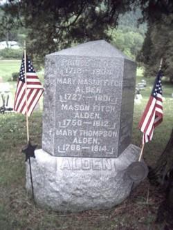 Mary Mason <I>Fitch</I> Alden