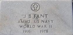 John B Fant