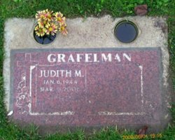 "Judith Marian ""Judy"" <I>Schenone</I> Grafelman"