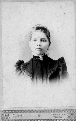 "Martha John ""Mattie"" <I>Shapard</I> Eanes"