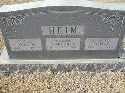 Margaret <I>Meitl</I> Heim