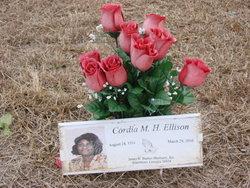 Cordia <I>McMillan</I> Ellison