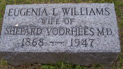 "Eugenia Lyon ""Jennie"" <I>Williams</I> Voorhees"