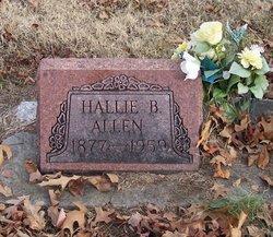 Hallie B. <I>Bowman</I> Allen