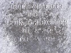 Nancy <I>Ballenger</I> Alexander