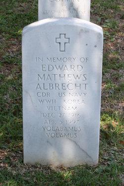 Edward Mathews Albrecht