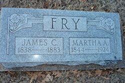 Martha Ann <I>Johnston</I> Fry
