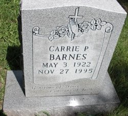 Carrie P. Barnes
