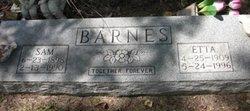 Etta Barnes