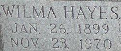 Wilma <I>Hayes</I> Akin