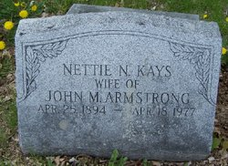 Nettie N. <I>Kays</I> Armstrong