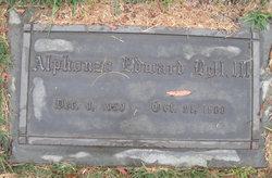 Alphonzo Edward Bell, III