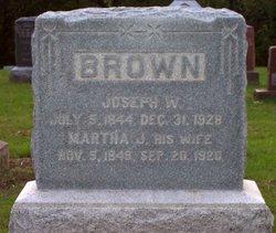 Martha J <I>Gardner</I> Brown