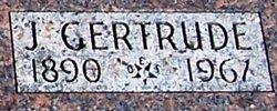 "Jennie Gertrude ""Gertrude"" <I>Chesney</I> Blackstone"