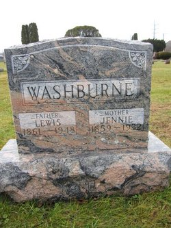 Jennie <I>Standish</I> Washburne