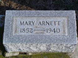 Mary <I>Wissinger</I> Arnett