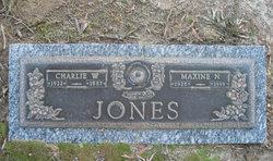 Maxine N <I>Newbern</I> Jones