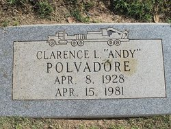 """Clarence L. """"Andy"""" Polvadore"""