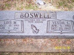 Vestal L Boswell