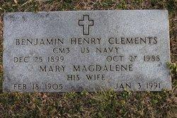 Benjamin Henry Clements