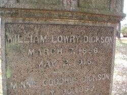 William Lowry Dickson