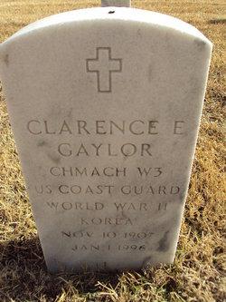 Clarence E Gaylor
