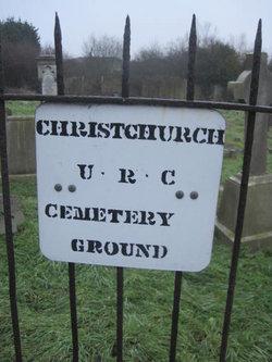 Christchurch URC Cemetery